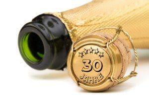 Champagner 30 Jahre