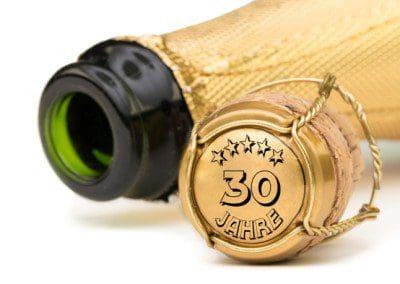 Champagner 30 Jahre Jubilum
