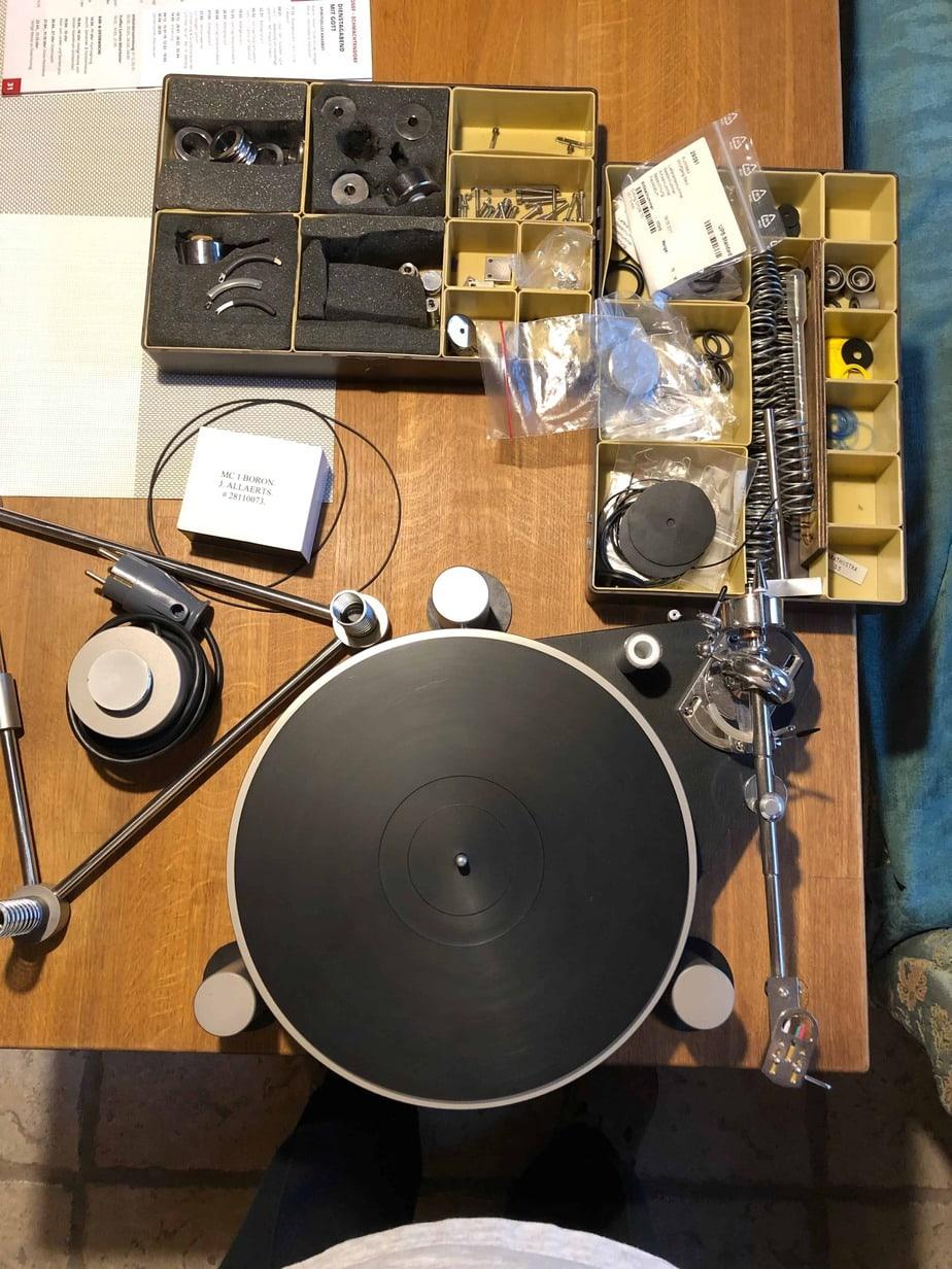 Zarathustra S4 und Pluto Audio 7A Prestige vor der Revision