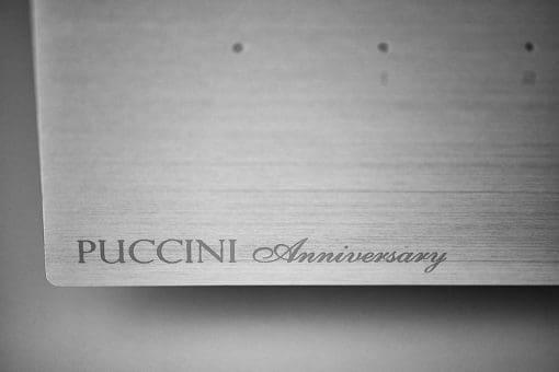 Audio Analogue Puccini Schriftzug